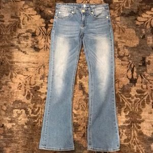 7 For All Mankind Bootcut Jeans- EEUC size 10